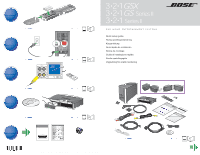 bose 321 gs series ii quick setup guide rh manualowl com Bose 321 Series III Bose 321 GS