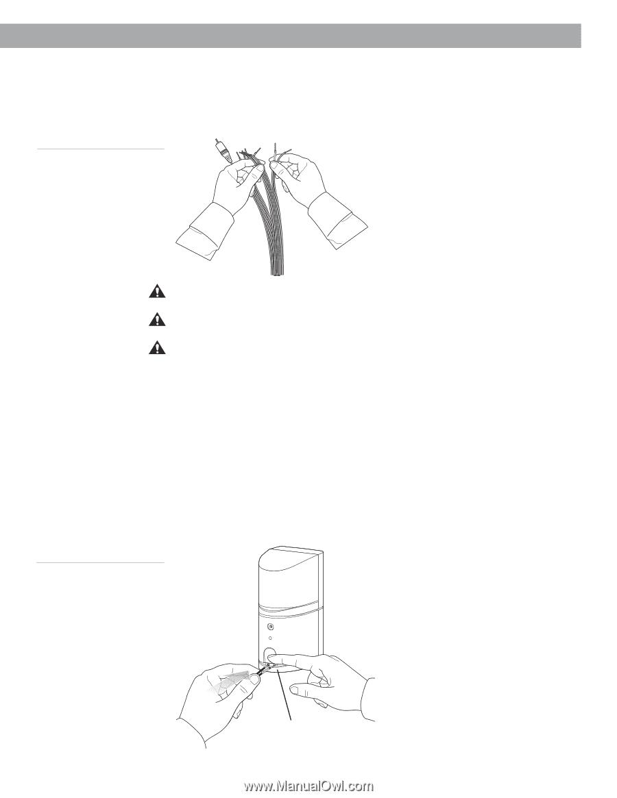 Bose Acoustimass 15 Wiring Diagram