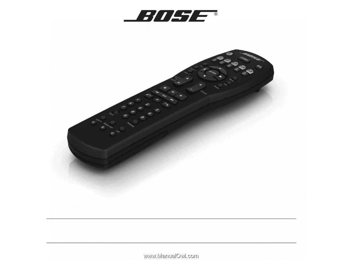 bose cinemate series 2 manual