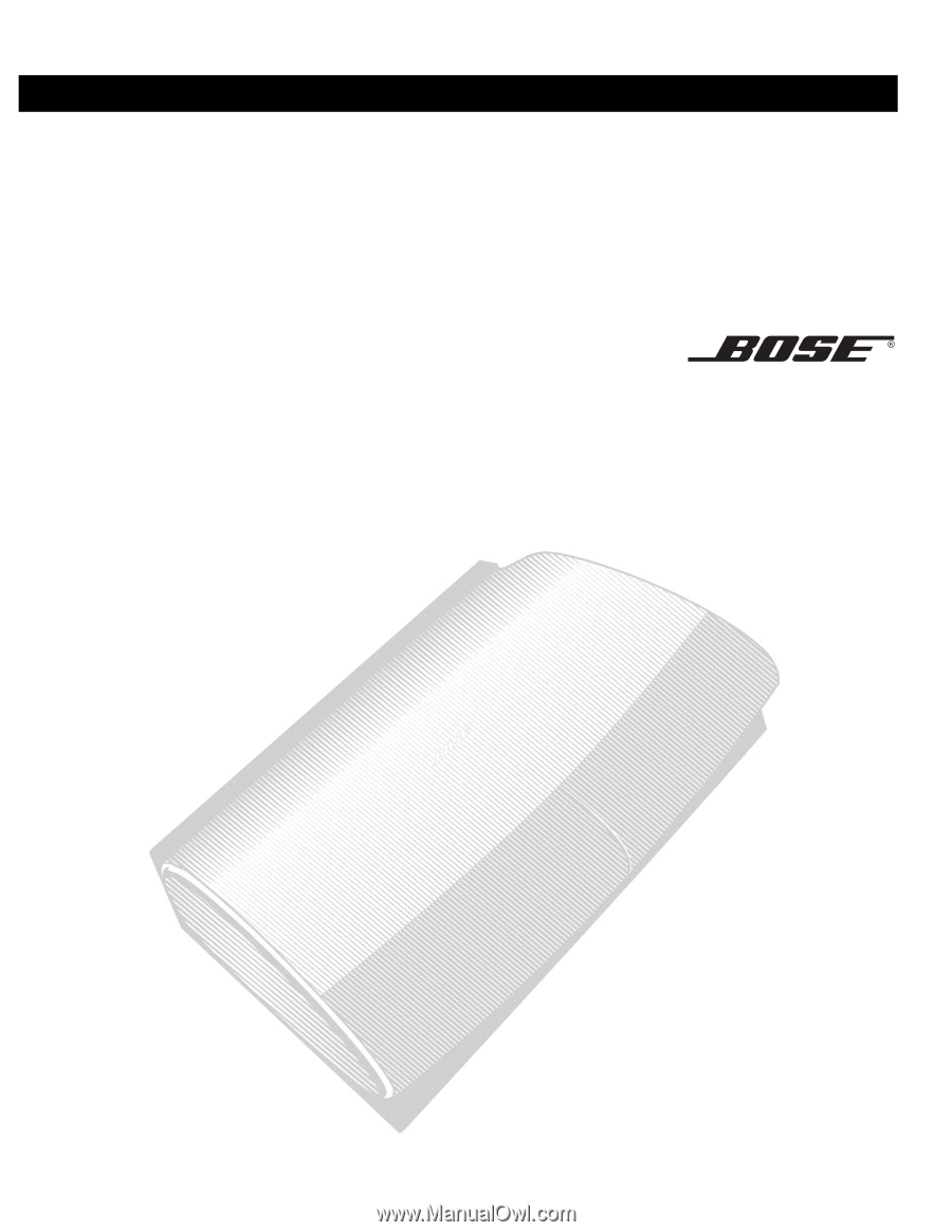 Bose Lifestyle 38