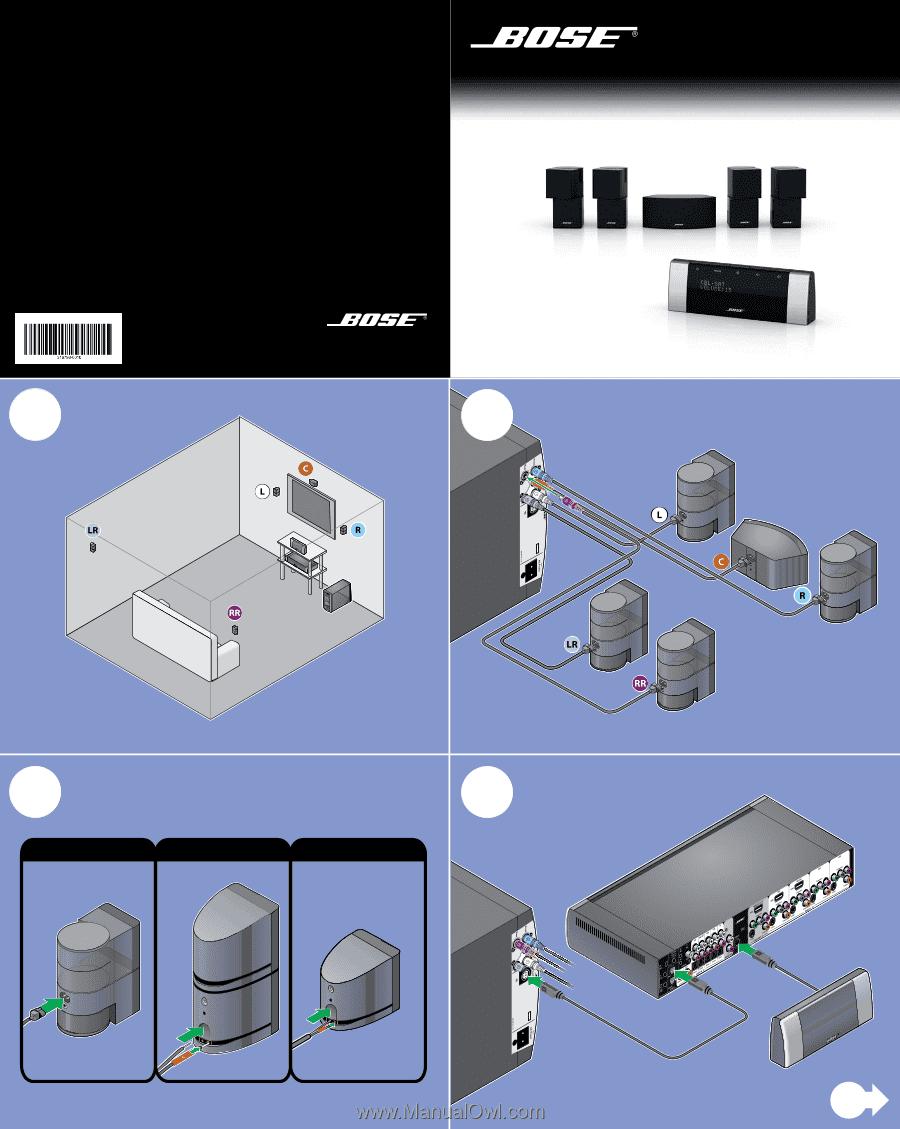bose lifestyle v20 manual rh manualowl com Bose T20 Update Bose T20 Manual