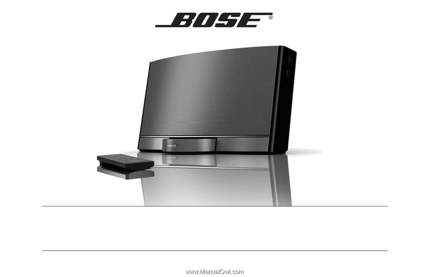 bose sounddock digital music system manual
