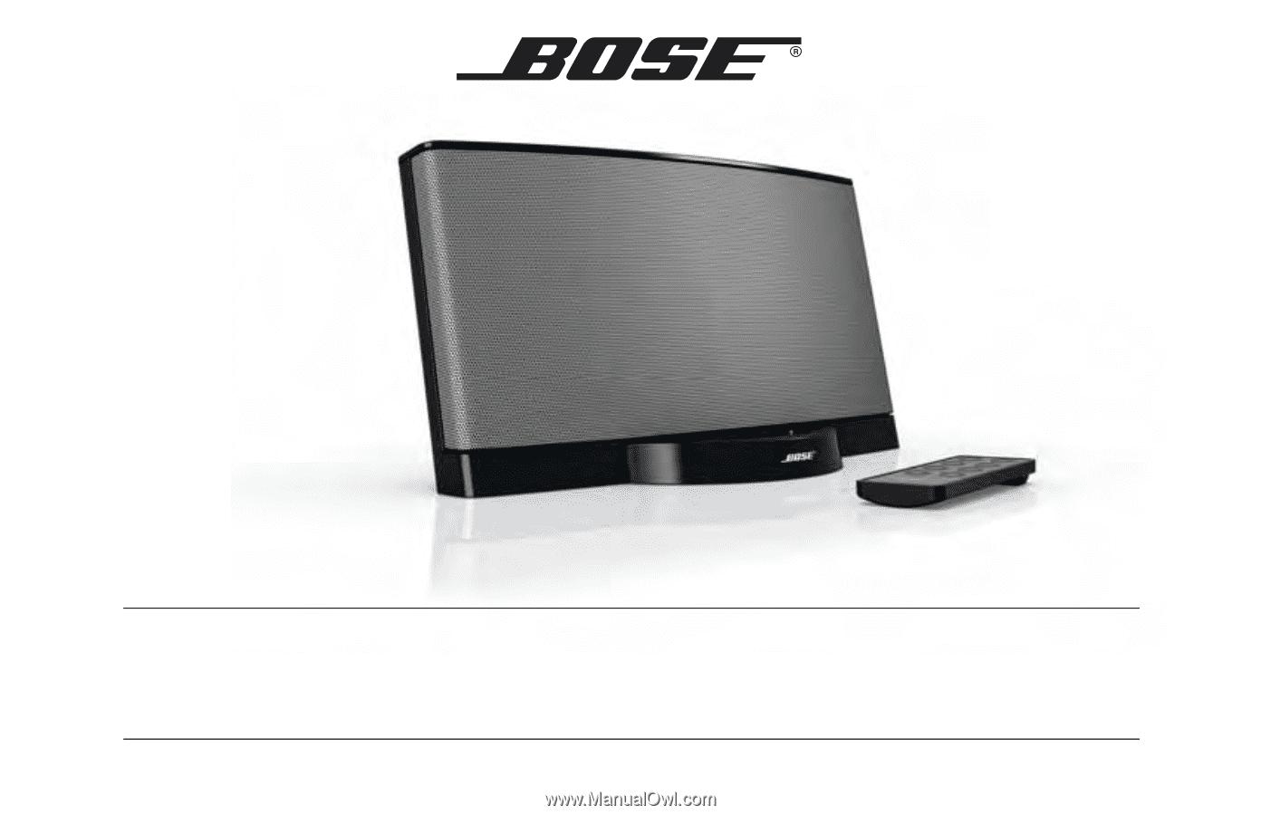 bose sounddock series ii manual
