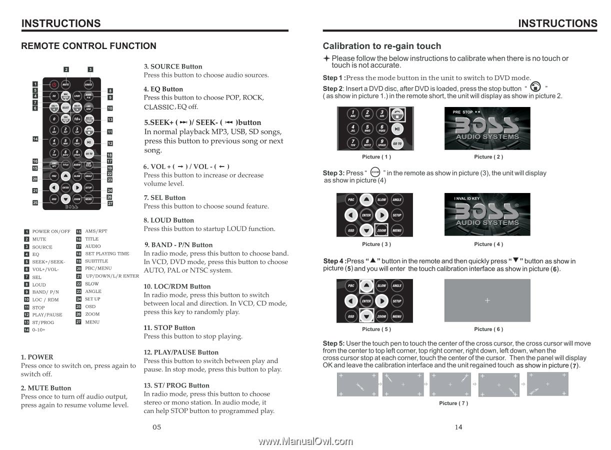 Boss Audio Bv9564bi User Manual In English Page 2 Wiring Diagram Radio Instructions