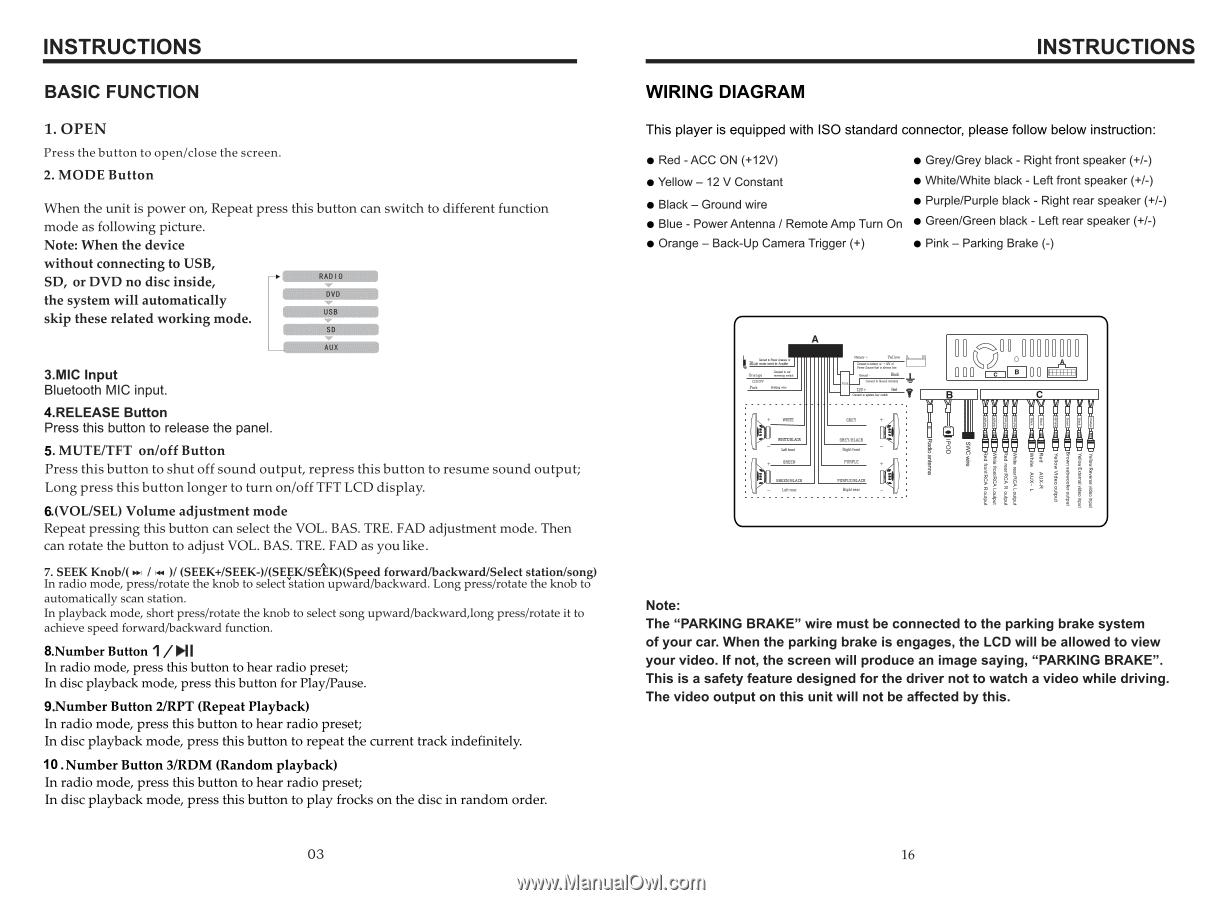 Boss Dvd Player Wiring Diagram