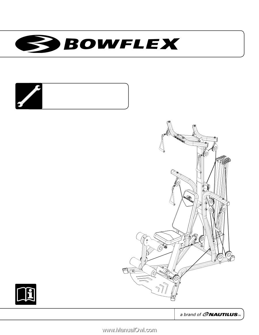 bowflex pr3000 assembly manual