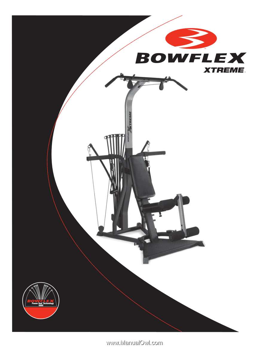 bowflex xtreme assembly and owners manual rh manualowl com Bowflex Power Pro XTL Manual Bowflex User Manual