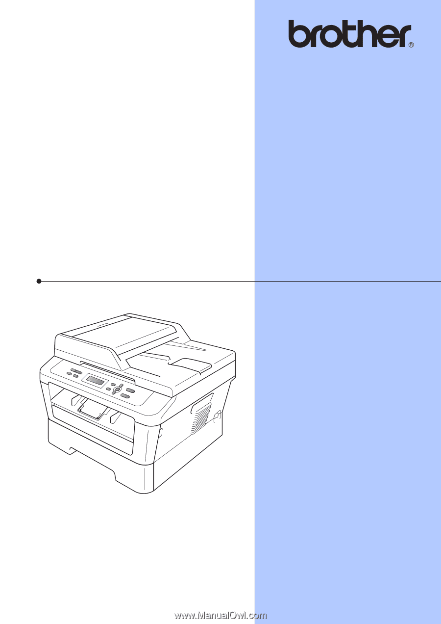 brother hl 2280dw user manual