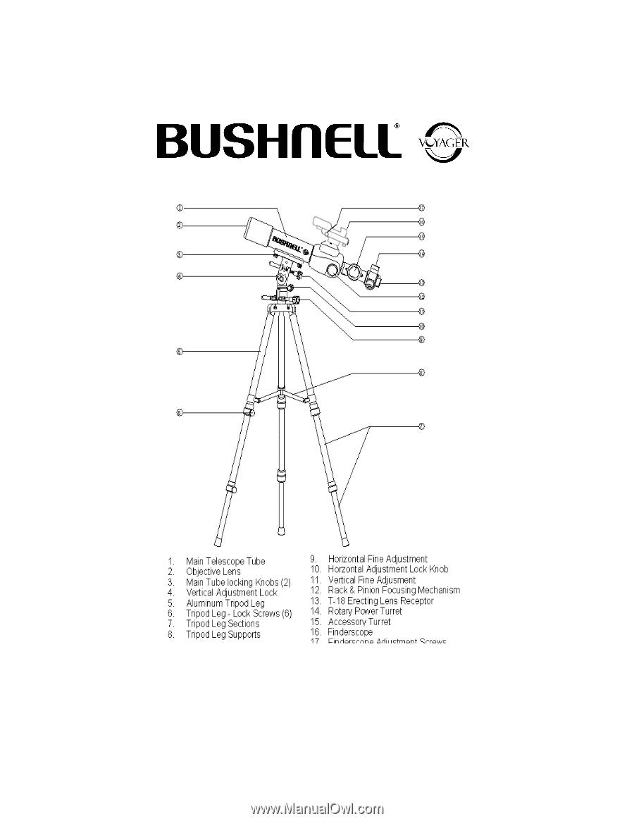 Bushnell Telescope 78 9660 user manual