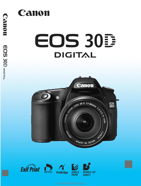 canon eos 30d eos 30d instruction manual rh manualowl com Canon EOS D30 Case Canon EOS D30 Case