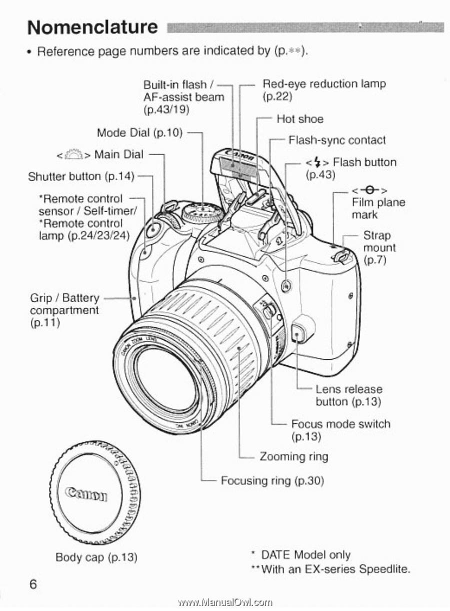 canon eos rebel k2 eos rebel k2 manual rh manualowl com Canon EOS Rebel 35Mm Canon EOS Rebel T4i