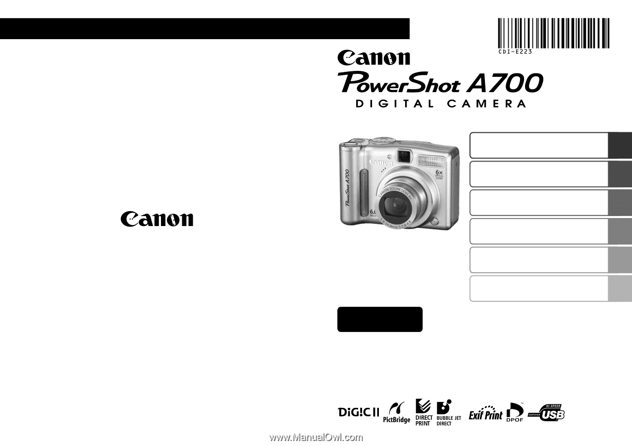 CANON POWERSHOT A700 CAMERA WIA DRIVERS FOR MAC