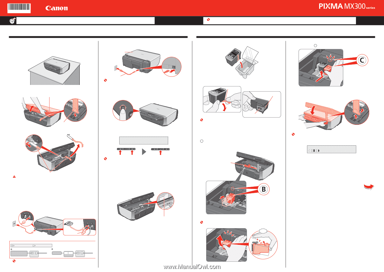canon mx300 fax instructions