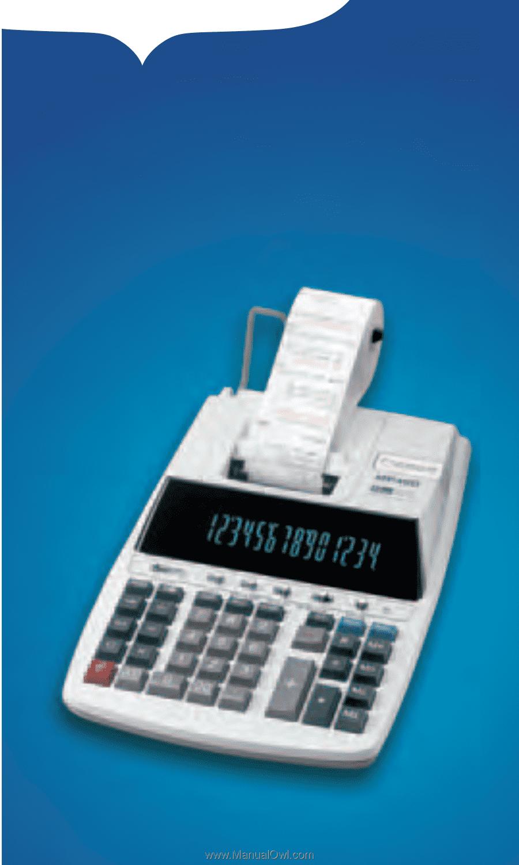 Canon P170 Dh Full Line Calculator Brochure