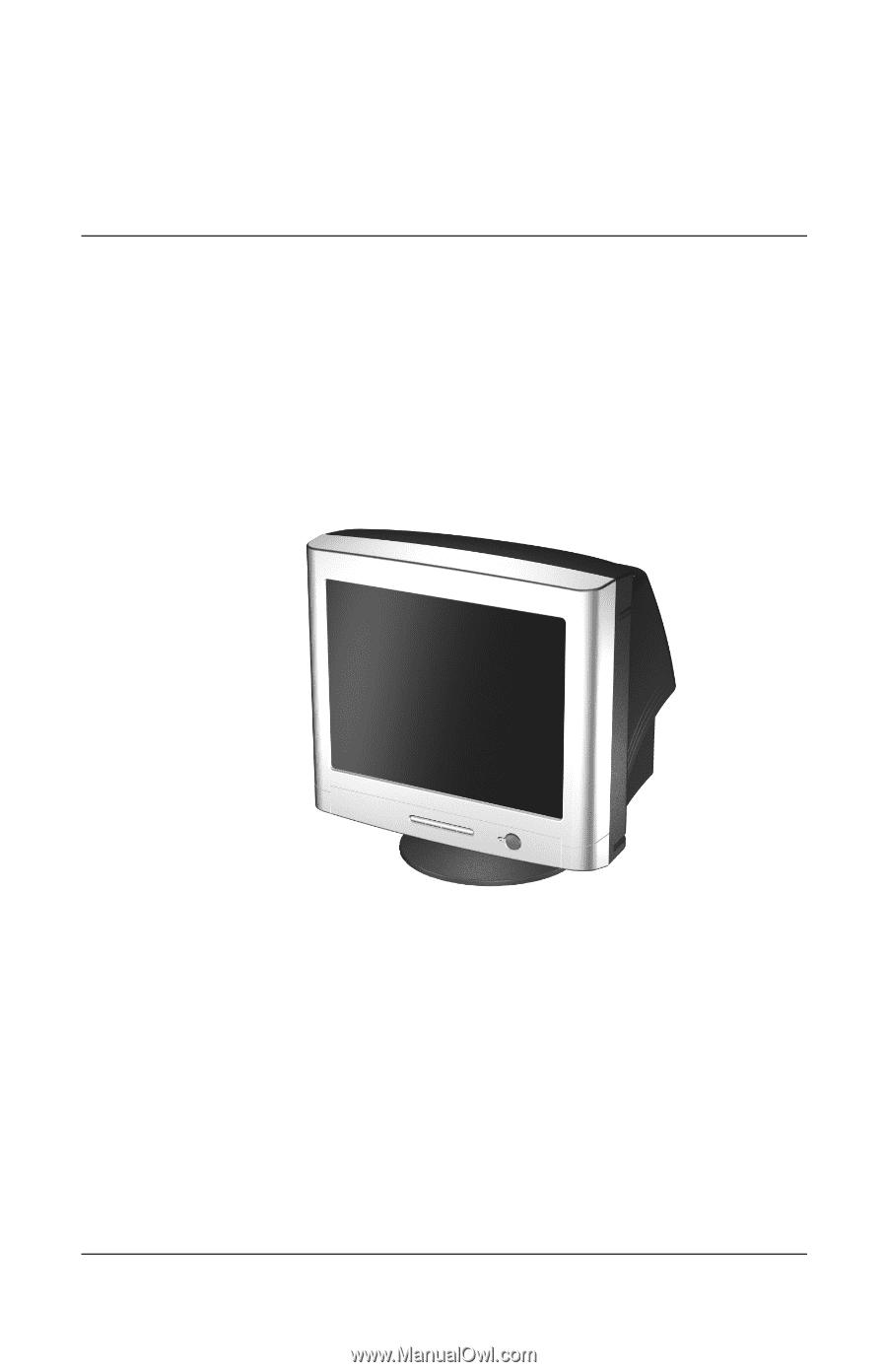 Mnl-8282] compaq professional monitors 17 inch manuals | 2019.