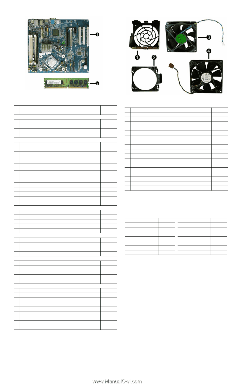 Compaq dc7900 | Illustrated Parts & Service Map: HP Compaq dc7900