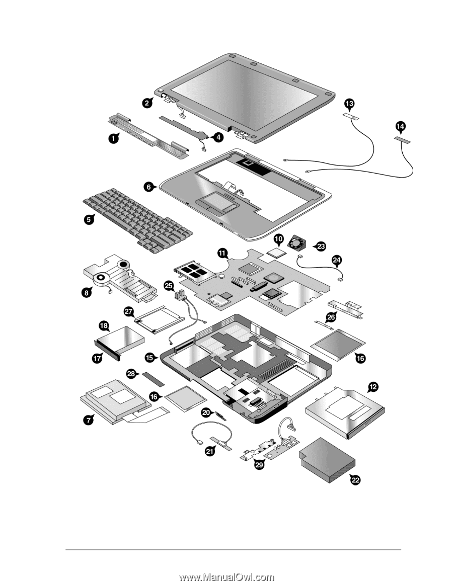 Service Manual. Figure 4-2. Exploded View