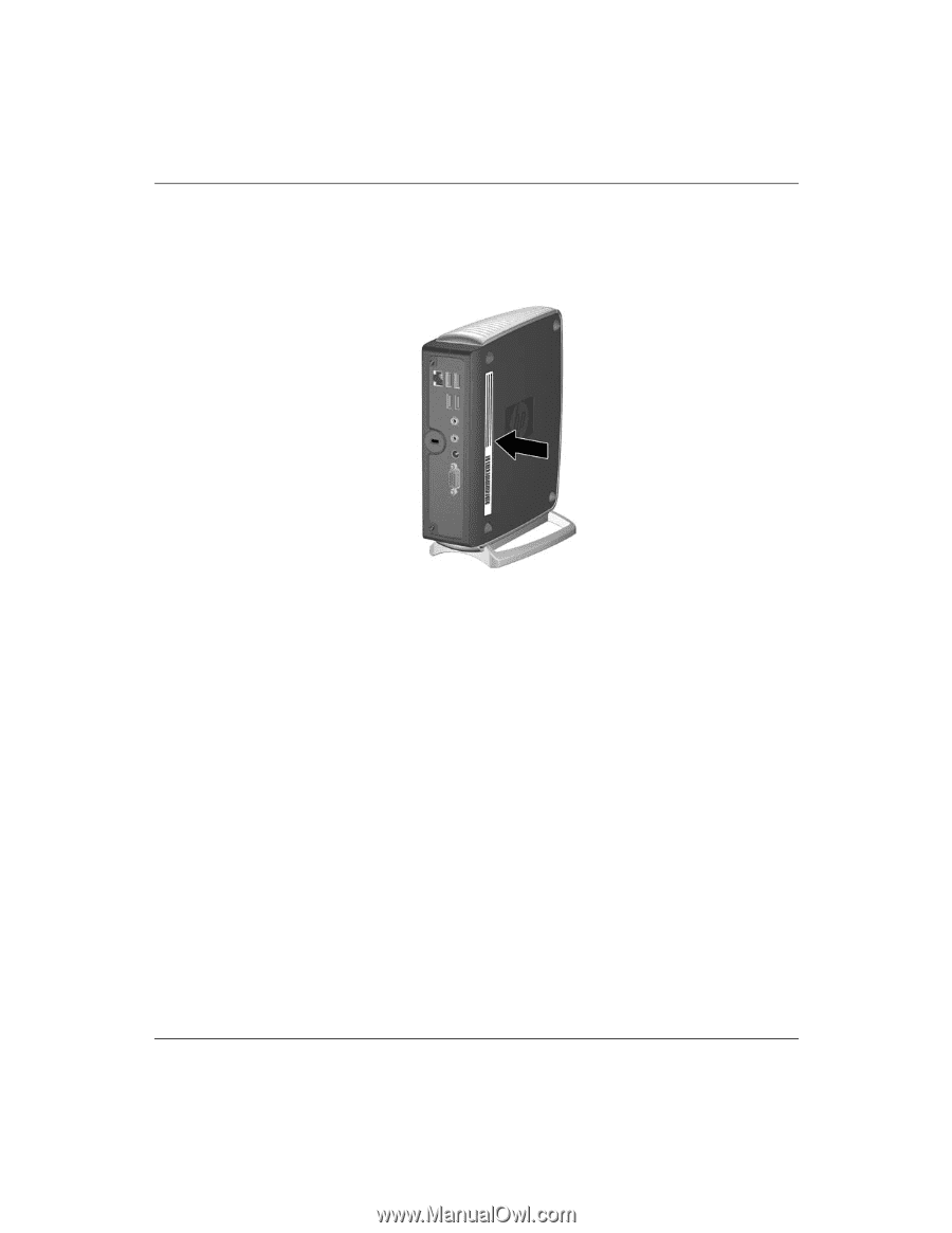 compaq t5520 troubleshooting guide hp compaq t5000 series thin rh manualowl com Power Supply HP Compaq T5000 Power Supply HP Compaq T5000