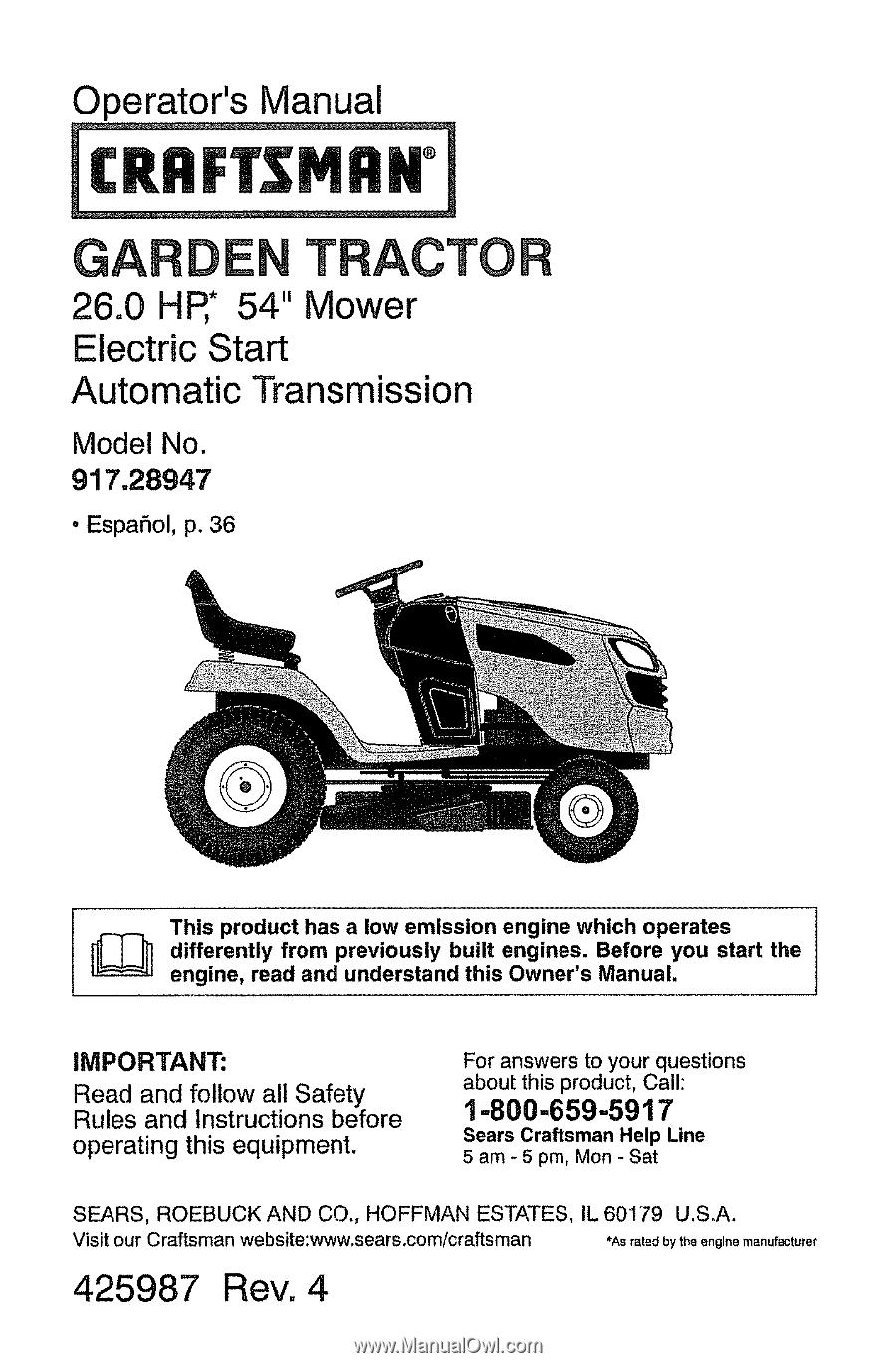 Craftsman 28947