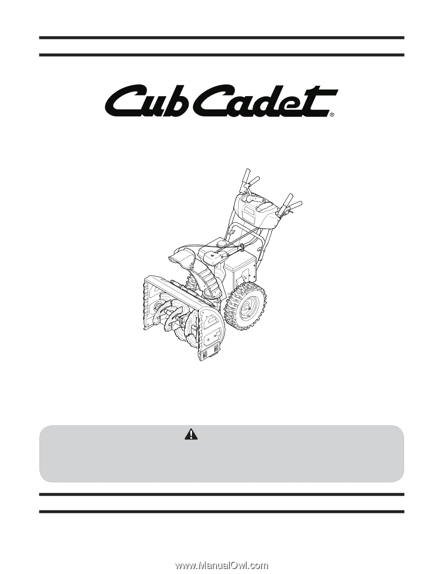 CUB CADET LLC, P.O. BOX 361131 CLEVELAND, OHIO 44136-0019