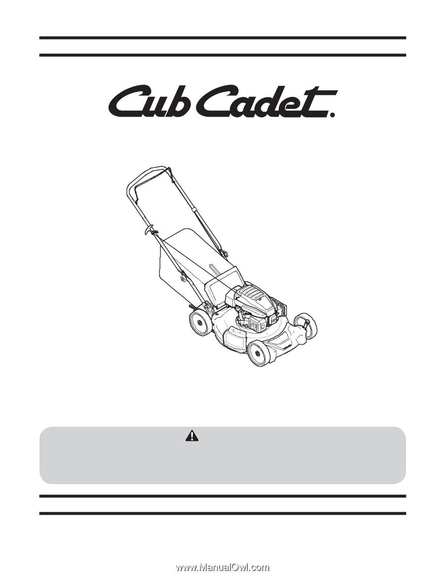 Cub Cadet Sc 100 Operators Manual Engine Schematics Llc Po Box 361131 Cleveland Ohio 44136 0019
