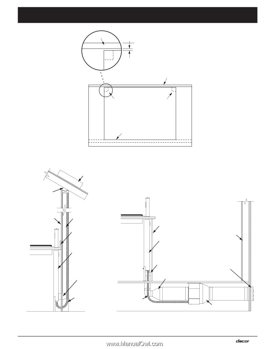 Dacor Erv3015 Installation Instructions Range Wiring Diagram 5