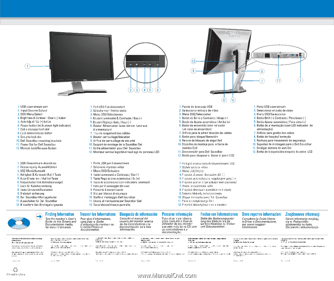Dell 2009W | Setup Guide