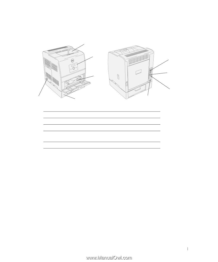 dell 3100cn color laser printer owner s manual rh manualowl com Dell 3110Cn dell 3100 service manual