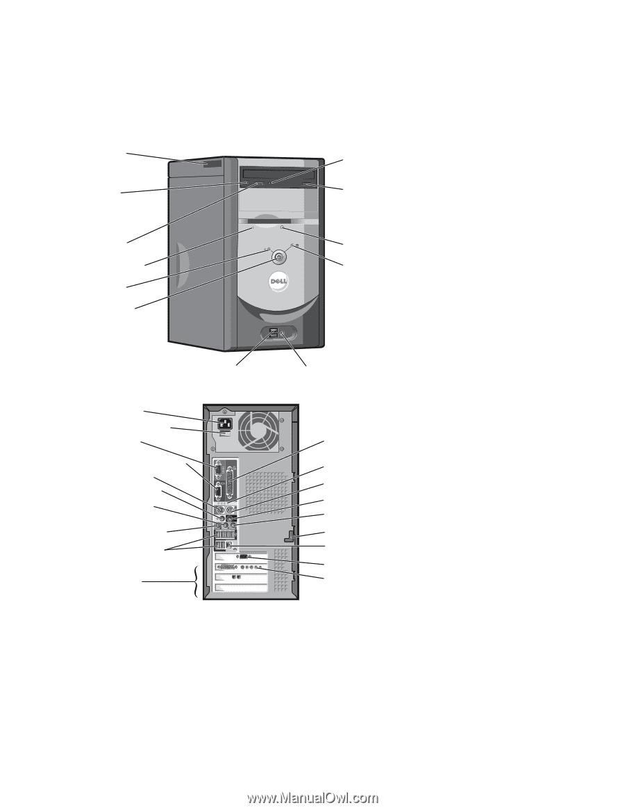 dell dimension 4600 owner s manual rh manualowl com Dell Dimension 3000 dell dimension 4500 manual