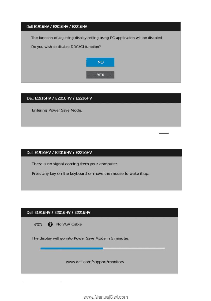 Dell E2216HV | Users Guide - Page 45