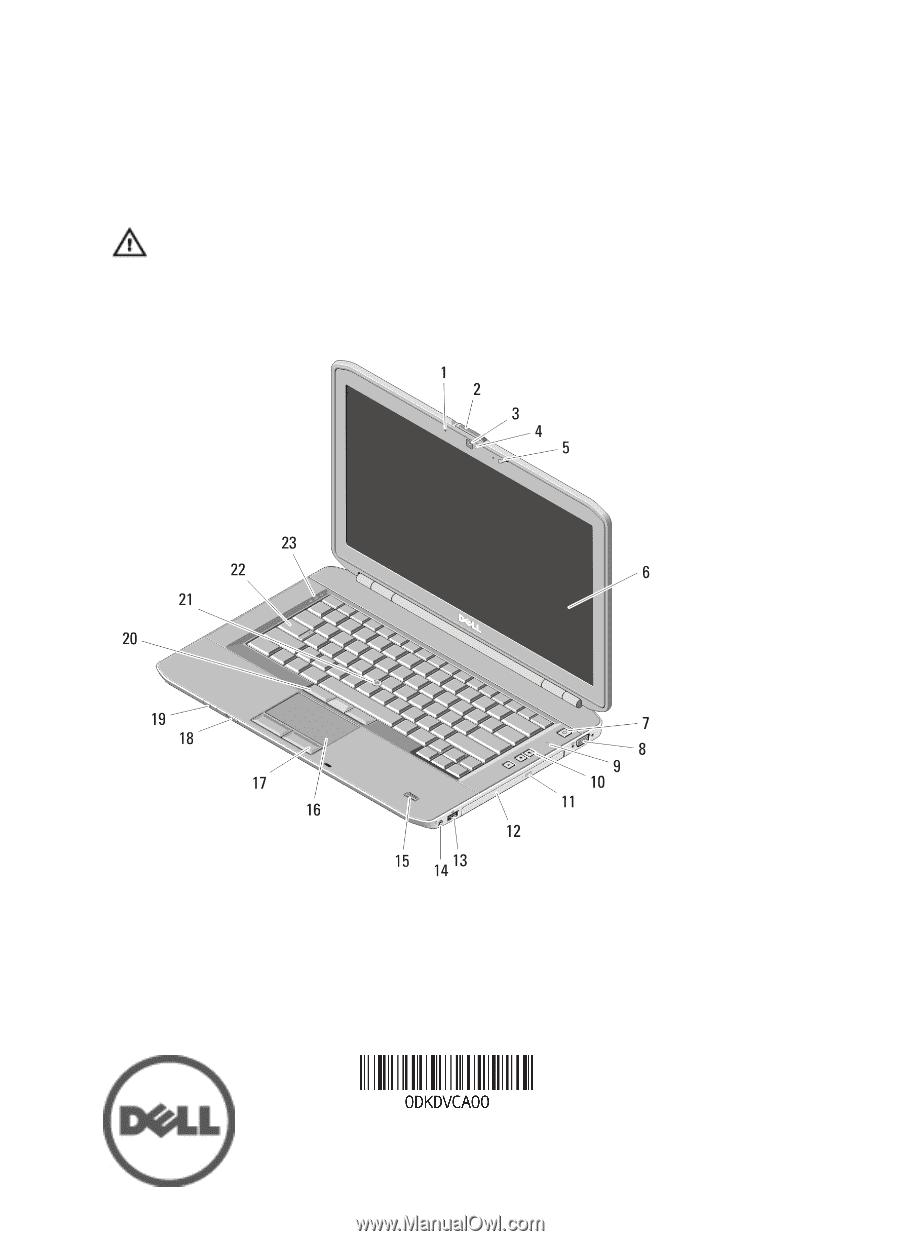 Dell Latitude 1525 manual