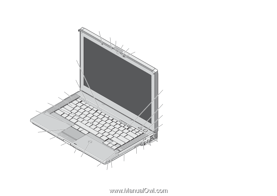 Dell Latitude E6410 | Setup and Features Information Tech Sheet