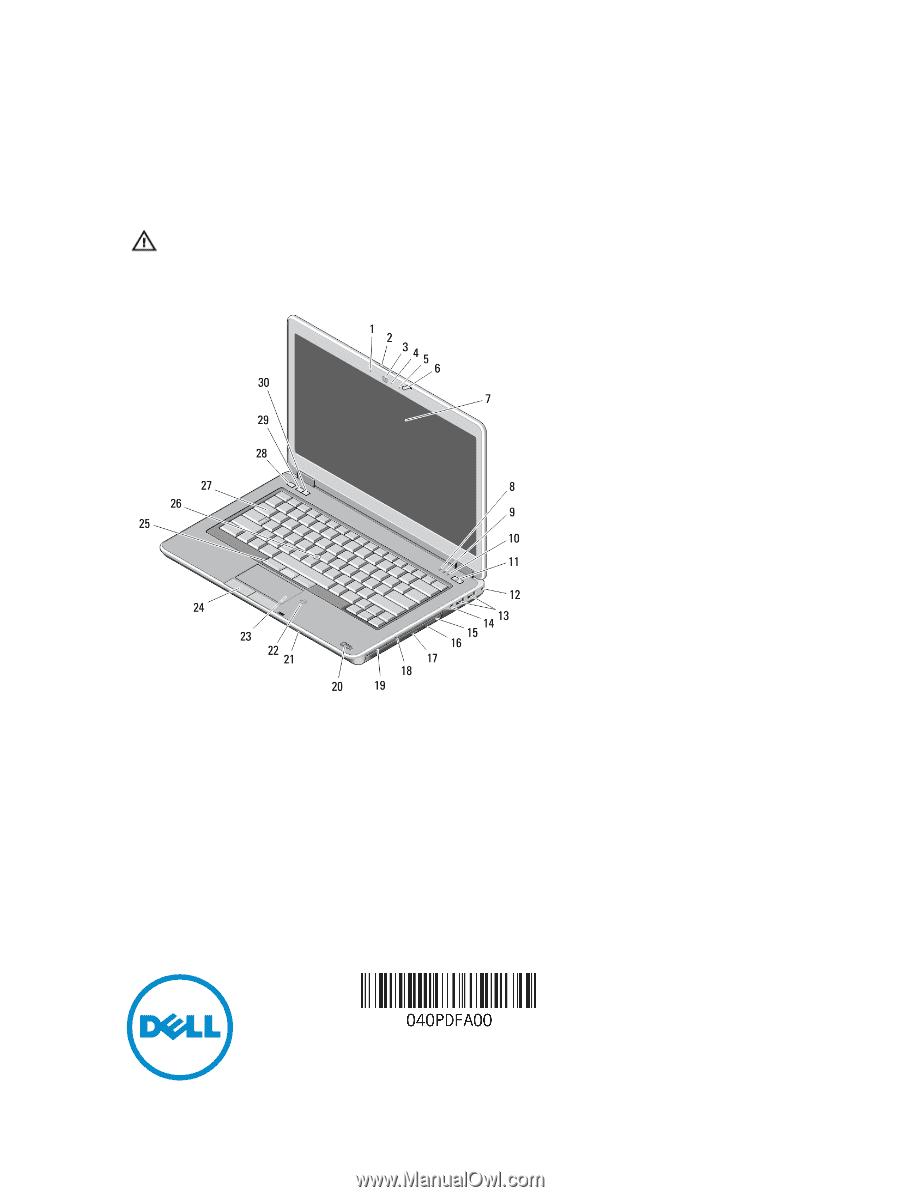 Dell Latitude E6440 Manual
