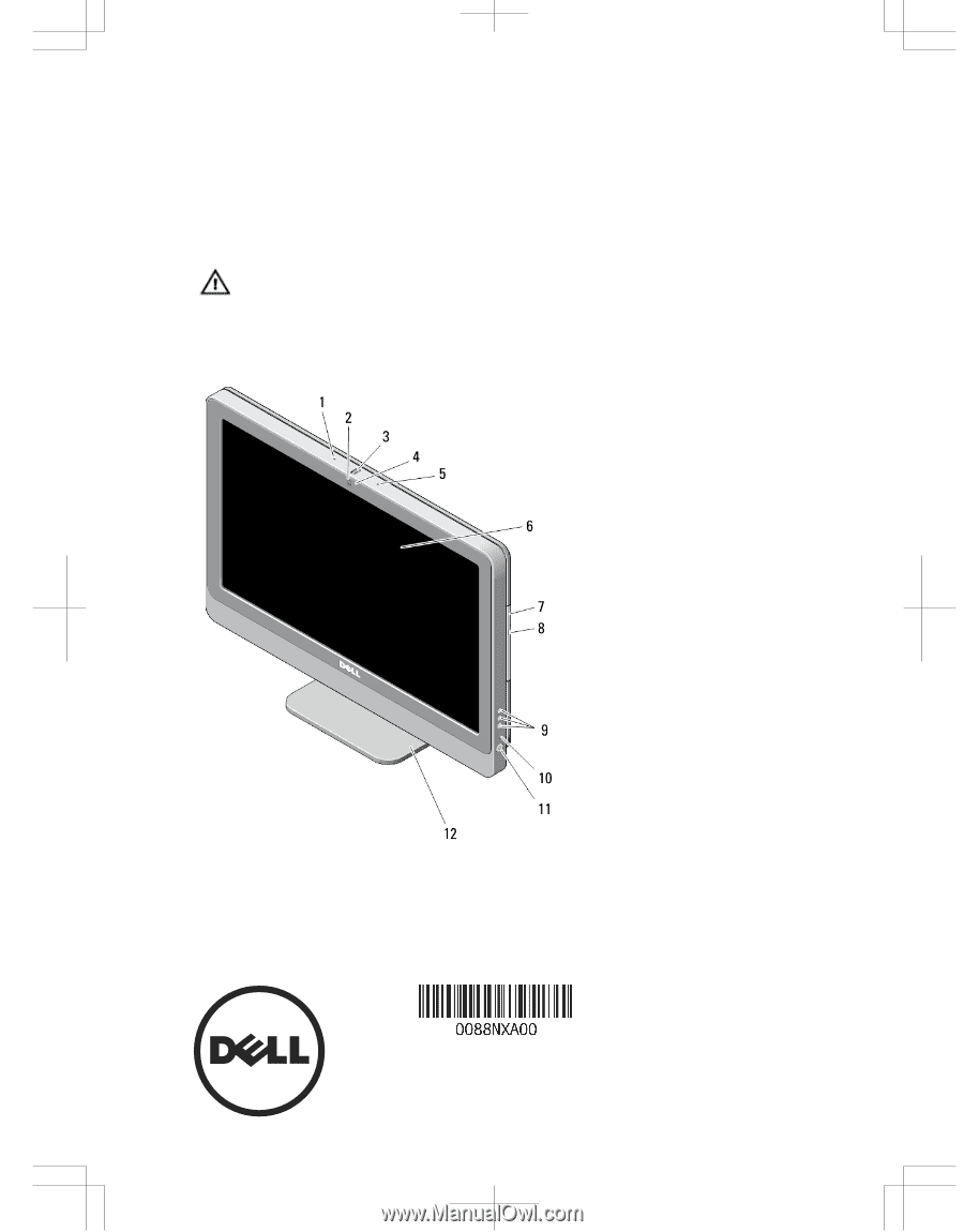 Dell OptiPlex 9020 AIO   Setup And Features Information Tech Sheet