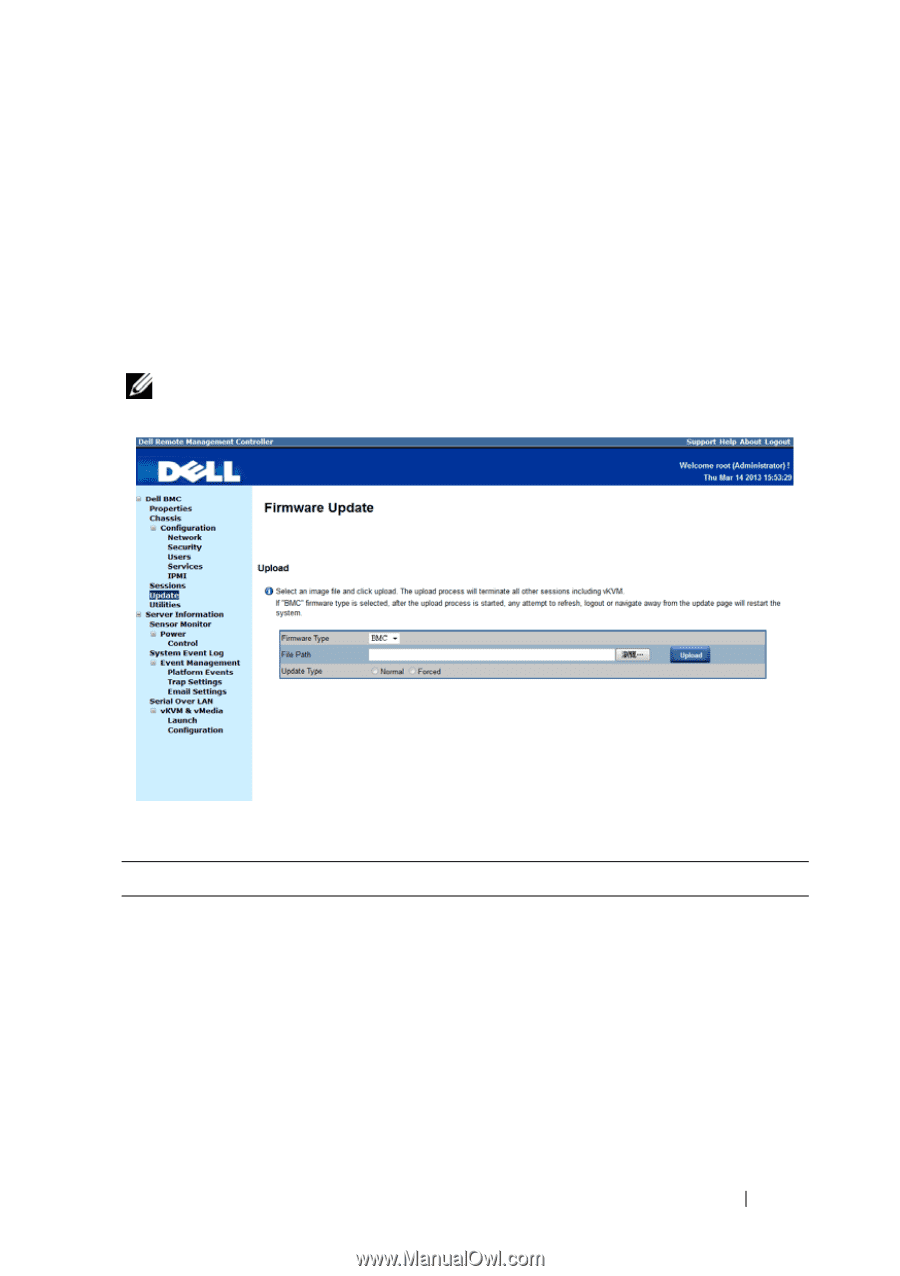 Dell PowerEdge C6220 II | Using the Baseboard Management