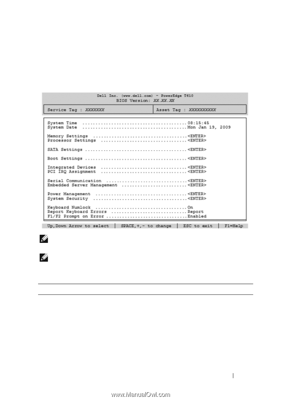 Dell PowerEdge T610   Hardware Owner's Manual - Page 52