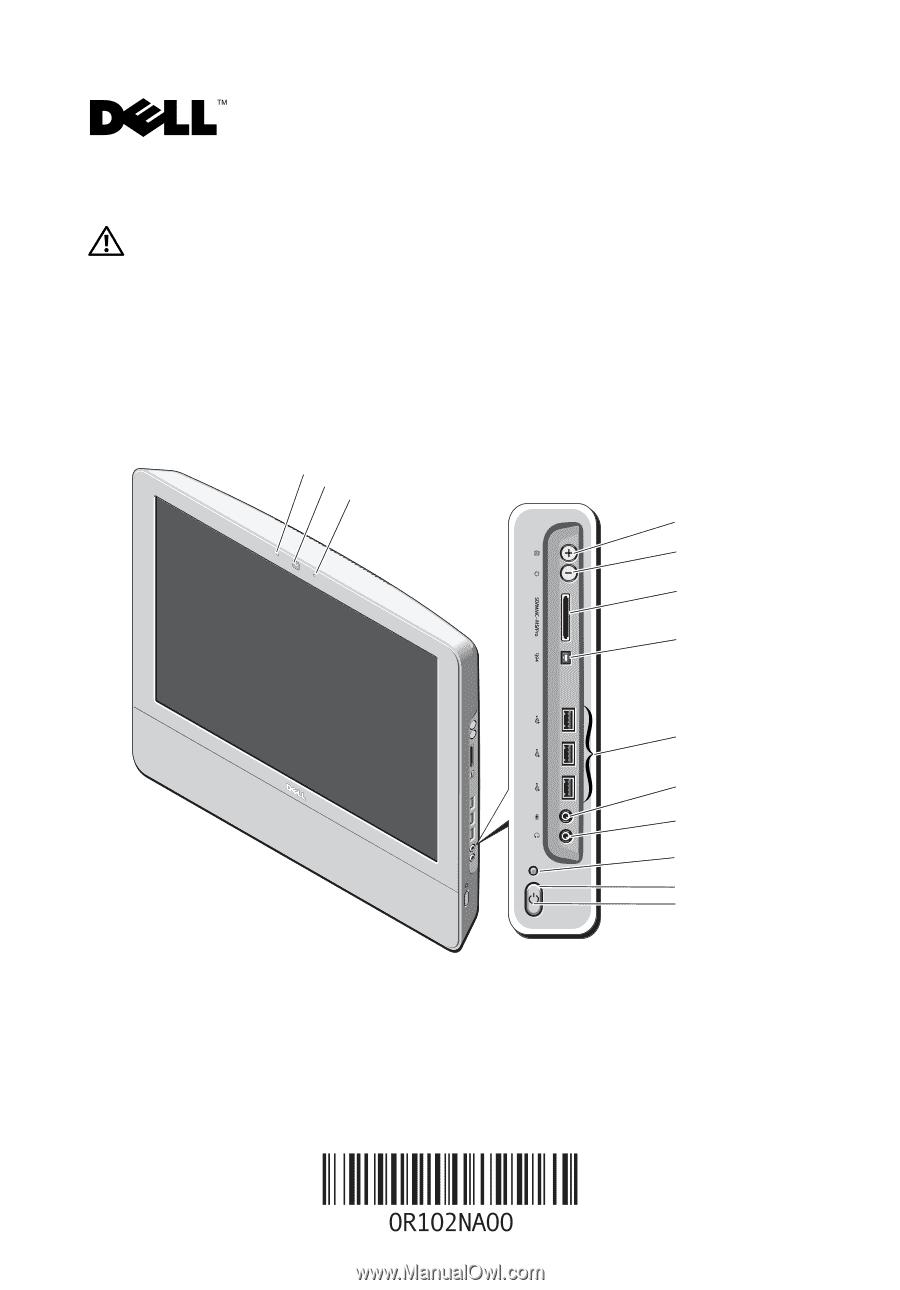 dell vostro 320 manual rh manualowl com Dell Vostro 320 Inside Dell Vostro Desktop Computer All in One