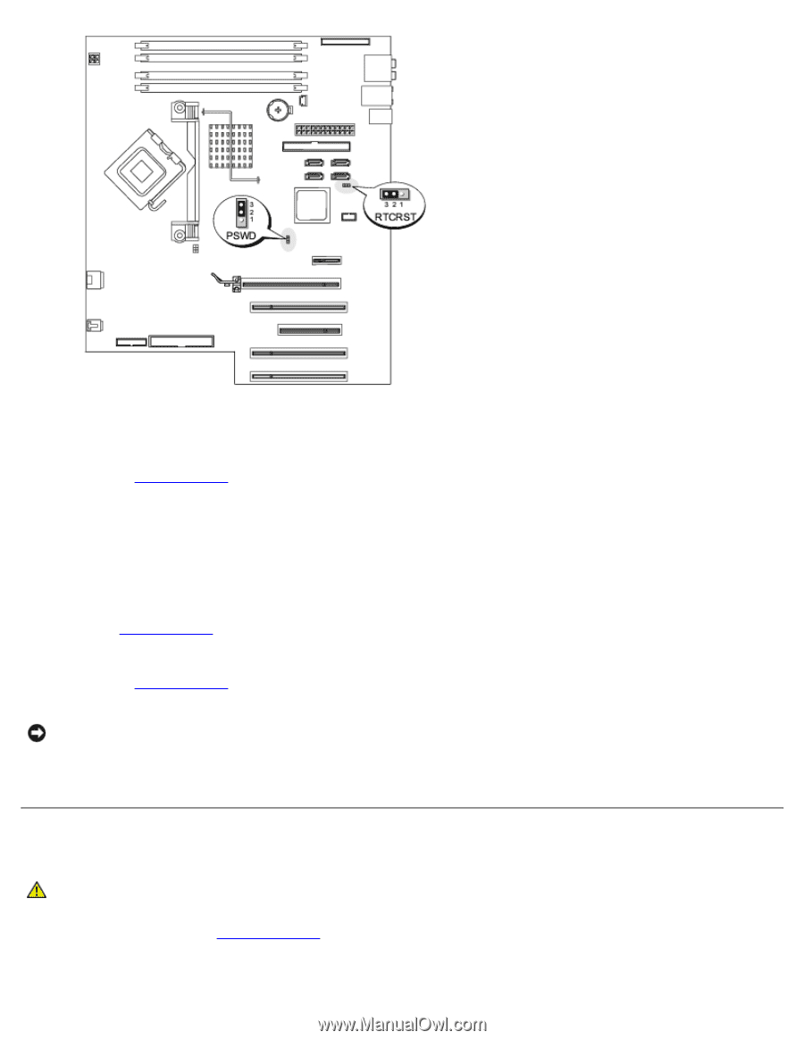 dell xps 400 9150 xps 400 dimension 9150 service manual page 40 rh manualowl com Dell XPS Motherboard Specs dell xps 400 service manual pdf