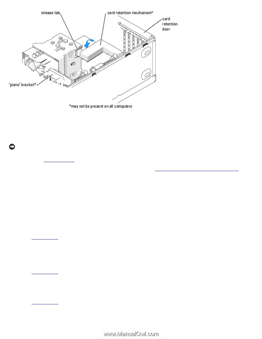 dell xps 400 9150 xps 400 dimension 9150 service manual page 40 rh manualowl com XPS 400 Motherboard Dell XPS 400 Ram