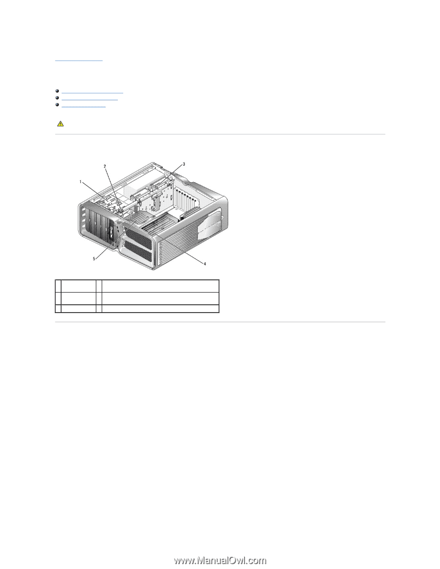 Back to Contents Page. Technical Overview. Dell™ XPS™ 730/730X Service  Manual