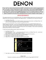 How to reset the denon avr-3808 av receiver youtube.