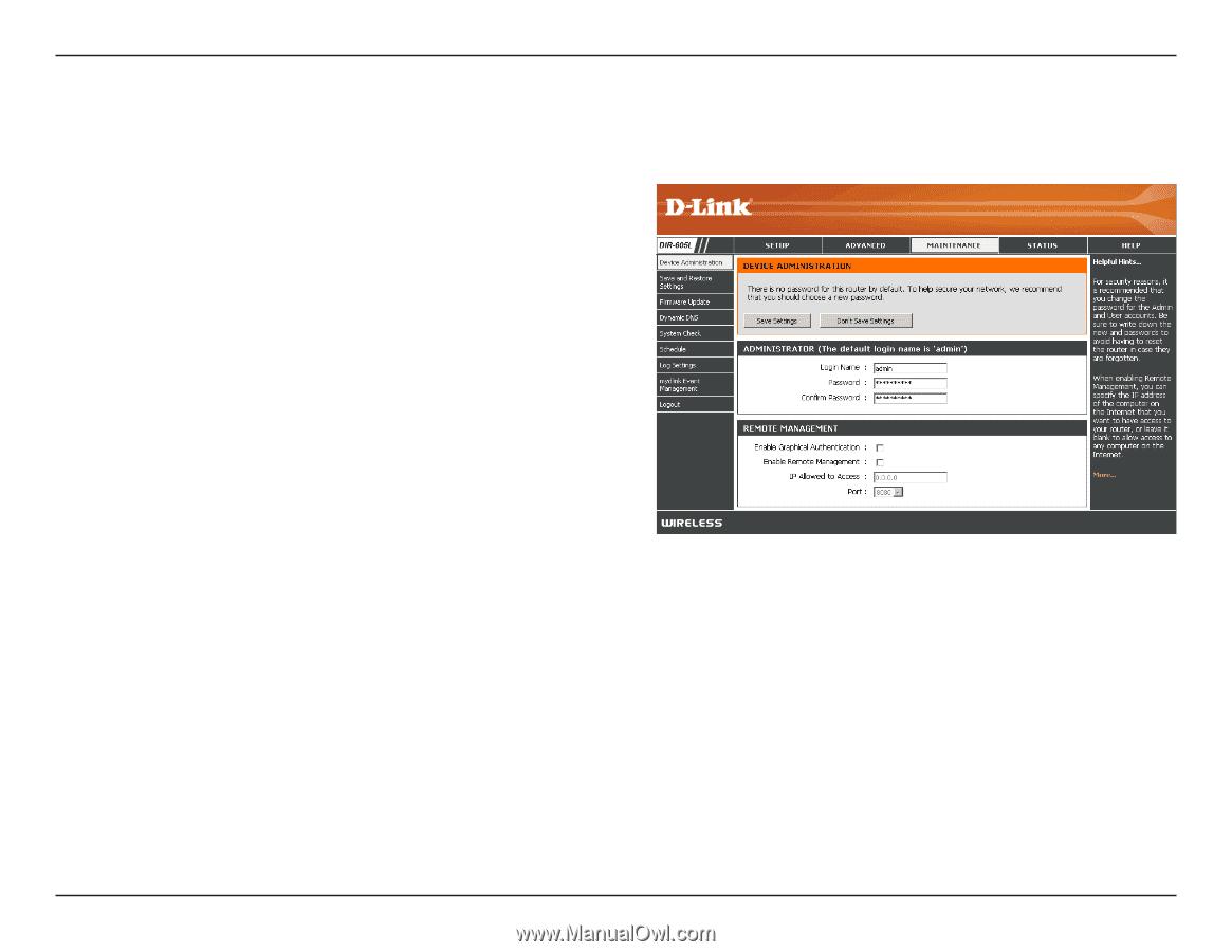 D-Link DIR-605L | Product Manual - Page 43