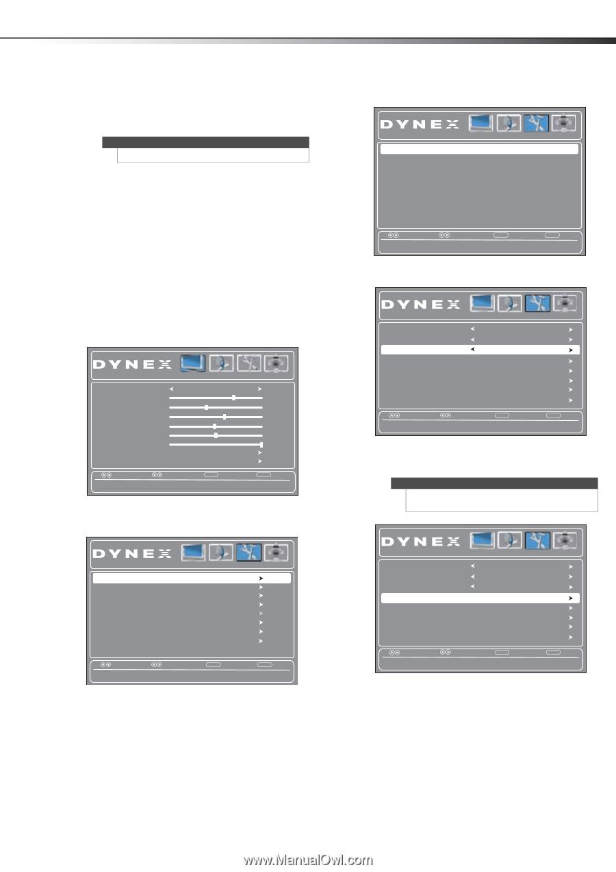 Dynex DX-24L230A12 | User Manual (English) - Page 28