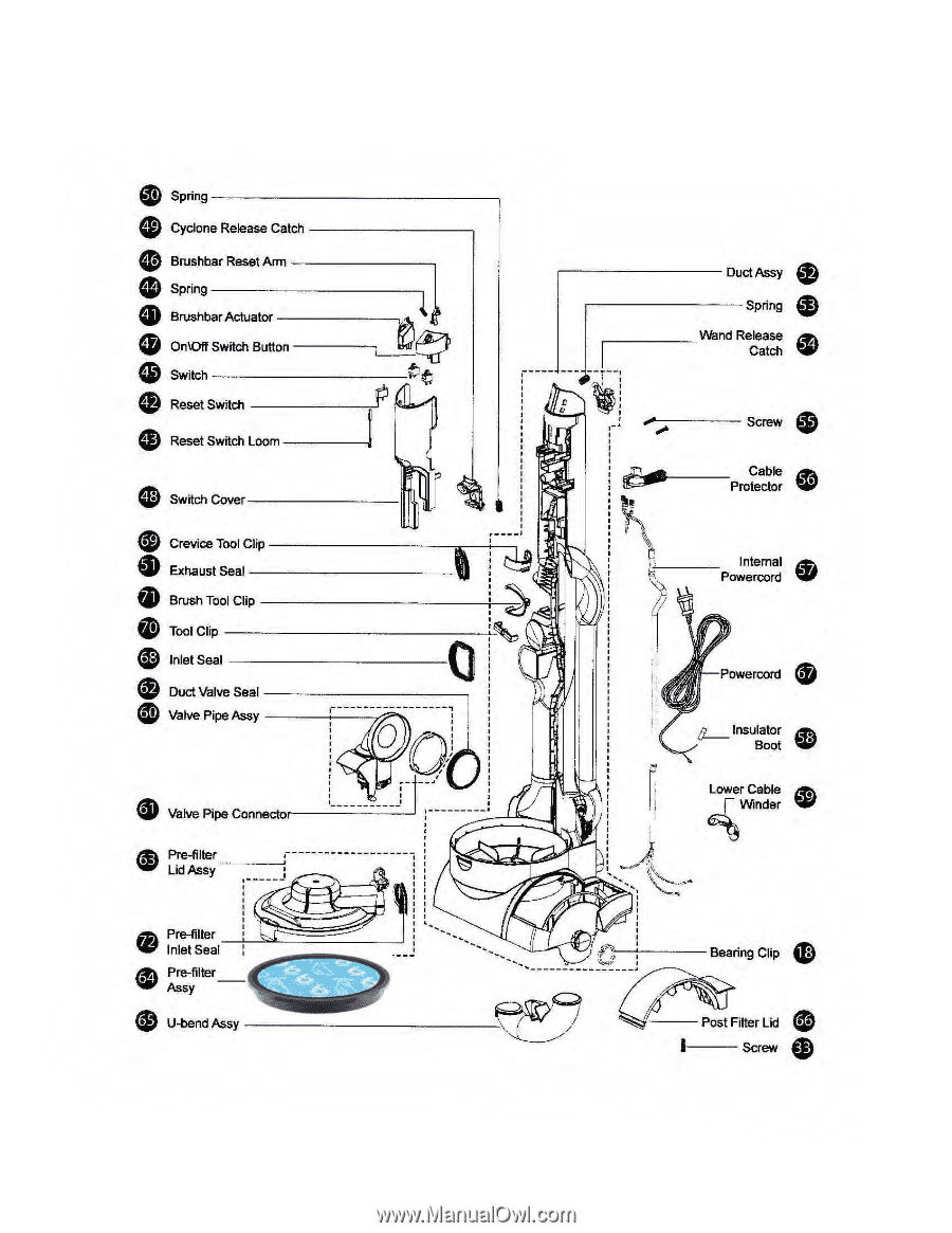 dyson dc17 parts list page 2. Black Bedroom Furniture Sets. Home Design Ideas