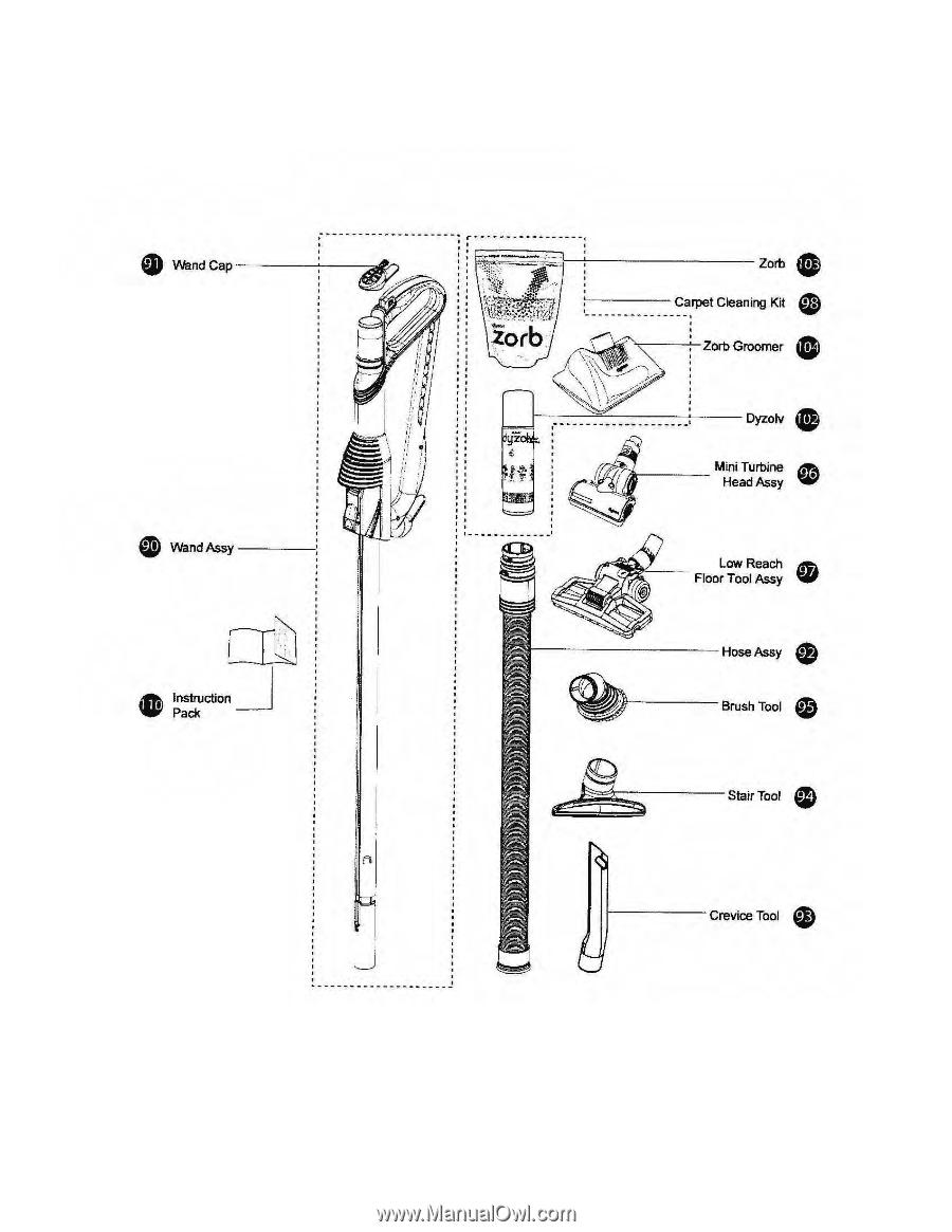 Dyson Dc17 Animal Parts List