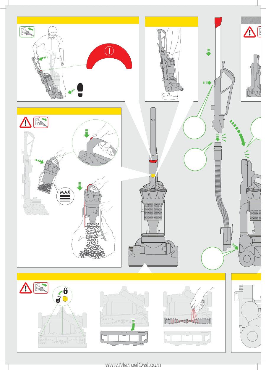 dyson dc33 operation manual rh manualowl com Dyson DC33 Won't Turn On Dyson DC33 Won't Turn On