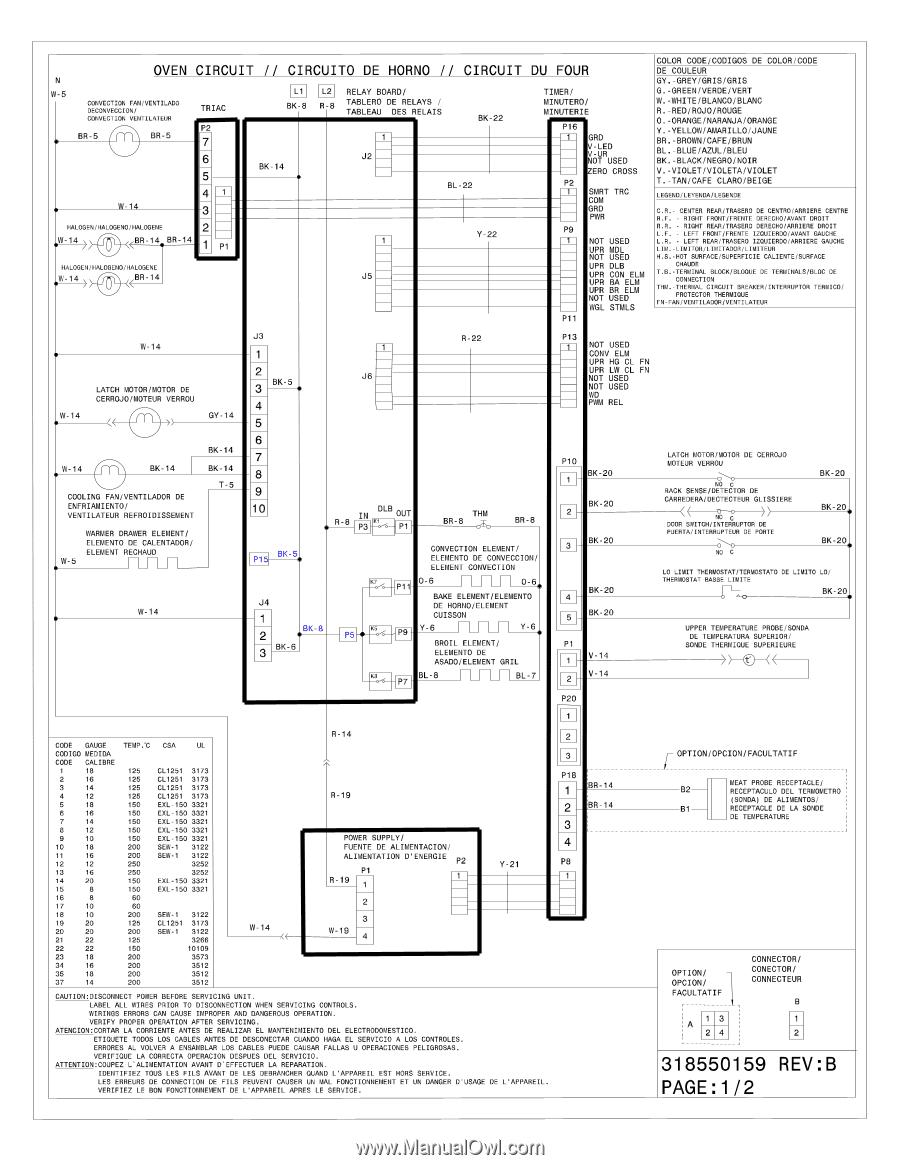 electrolux ew30es6cgs  wiring diagram english