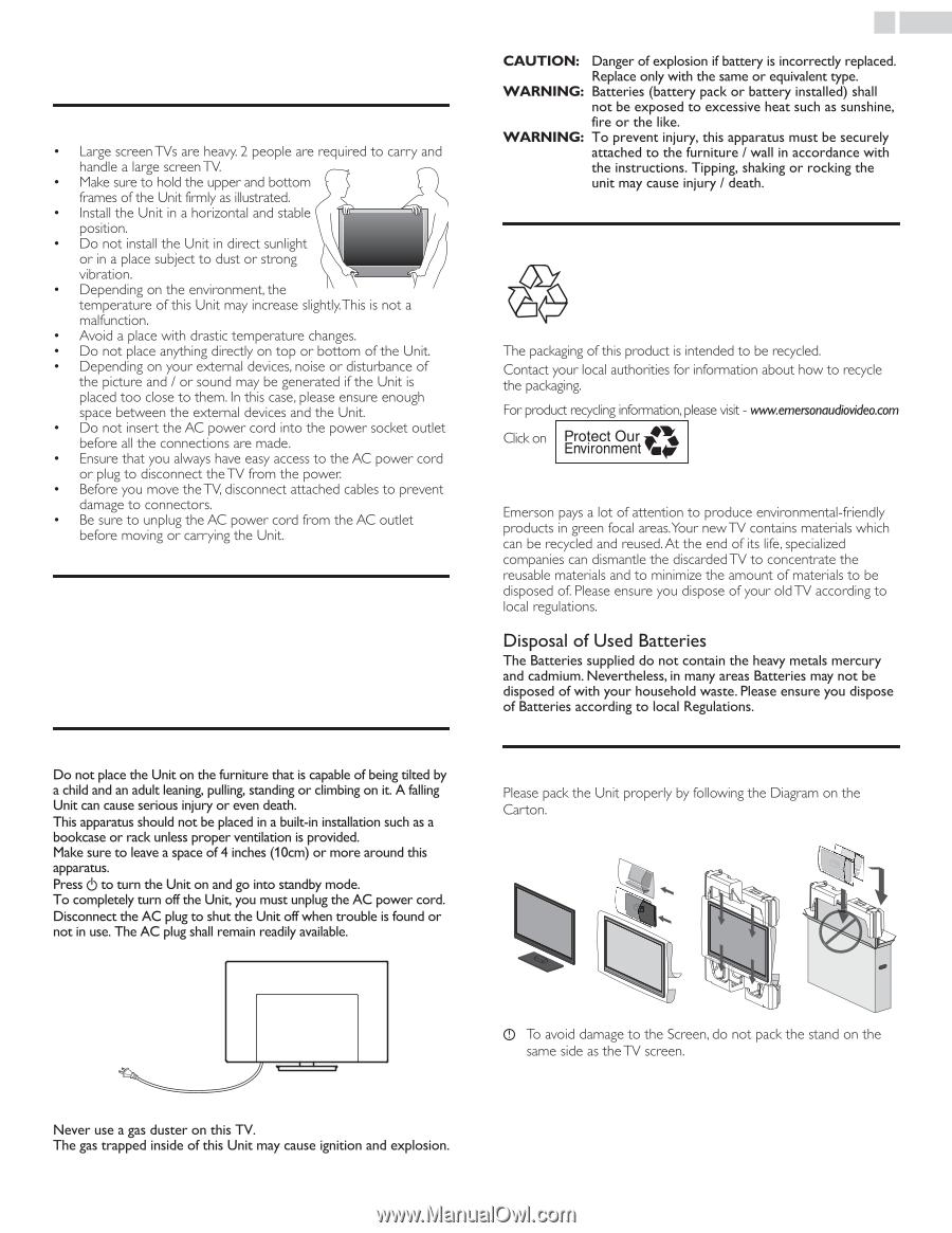 Emerson LD320EM5   Owner s Manual