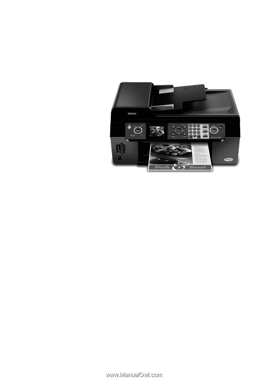 Epson WorkForce. 500 Series