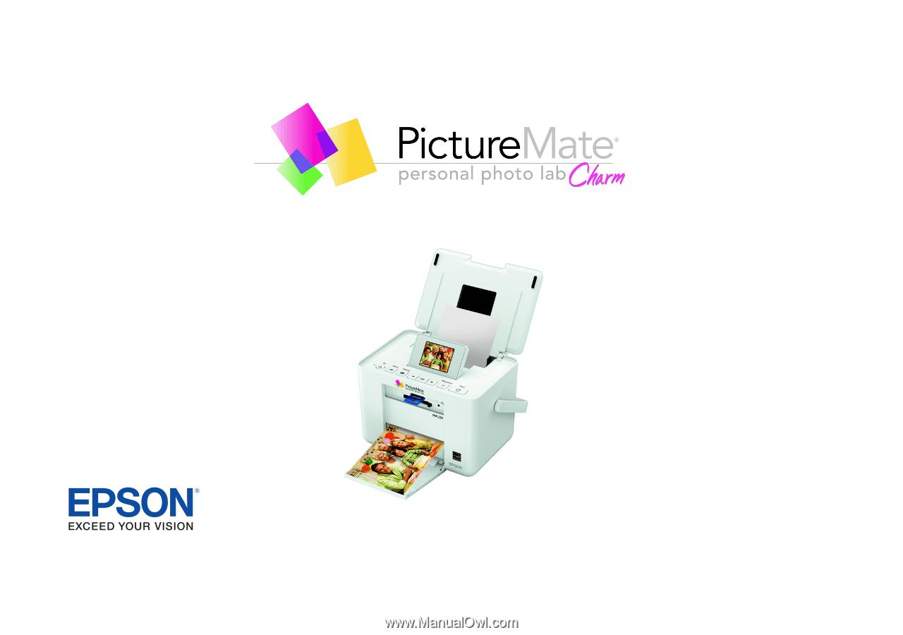 epson picturemate charm pm 225 user s guide rh manualowl com Epson PictureMate Compact Photo Printer Epson PictureMate Charm